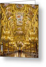 Palais Garnier Interior Greeting Card