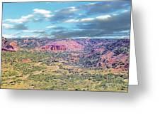 Palo Duro Canyon Greeting Card
