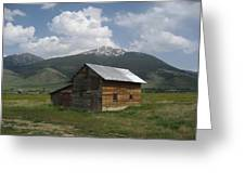 Paradise Valley Montana Greeting Card