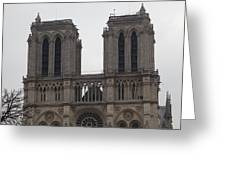 Paris France - Notre Dame De Paris - 01133 Greeting Card