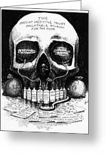 Patent Medicine Cartoon Greeting Card