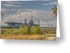 Patriots Point Maritime Greeting Card