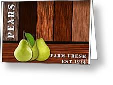 Pear Farm Greeting Card