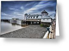 Penarth Pier 1 Greeting Card