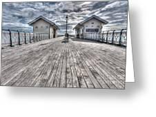 Penarth Pier 3 Greeting Card