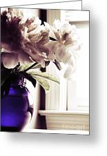 Peony Greeting Card by HD Connelly