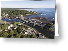 Perkins Cove, Ogunquit Greeting Card