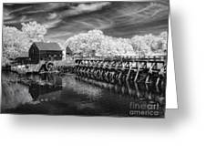 Philipsburg Mill Greeting Card
