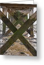 Pier Structure Greeting Card