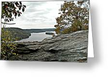Pinnacle Overlook  Greeting Card