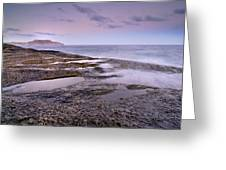 Plomo Beach Greeting Card