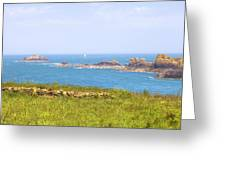 Pointe Du Grouin - Brittany Greeting Card