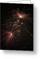 2 Pop Fireworks Greeting Card