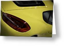 Porsche Cayman S Greeting Card by Sebastian Musial