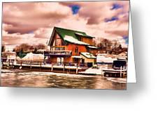 Port Dover Greeting Card