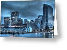 Port Of San Francisco Greeting Card
