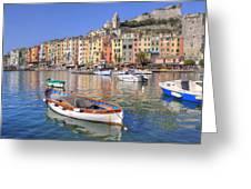 Porto Venere Greeting Card
