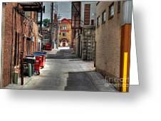 Portrait Alley Greeting Card