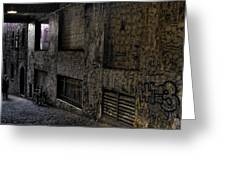 Post Alley - Seattle Greeting Card