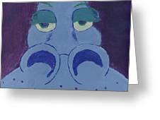 Potamus Greeting Card
