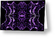 Purple Series 7 Greeting Card