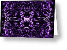 Purple Series 9 Greeting Card