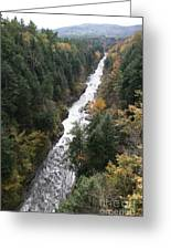Quechee Gorge Greeting Card