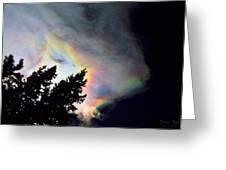 Rainbow Cloud Greeting Card