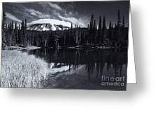 Rainier Capped Greeting Card