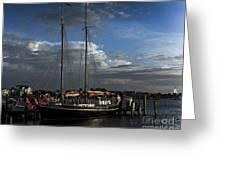 Ready To Sail Greeting Card
