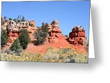 Red Canyon - Utah Greeting Card