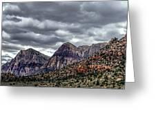Red Rock Canyon - Las Vegas Nevada Greeting Card