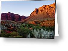 Red Rock Glory Greeting Card