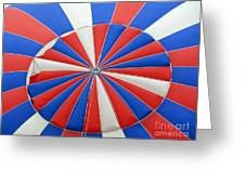 Red White And Balloon  Greeting Card