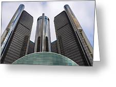 Renaissance Center Greeting Card