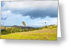 Rinca Panorama Greeting Card by MotHaiBaPhoto Prints