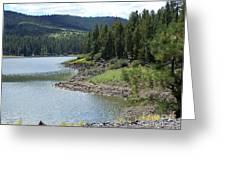River Reservoir Greeting Card