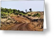 Road On Hierro Greeting Card