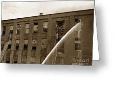 Rochester Show Case Co. Fire New York State Circa 1904 Greeting Card
