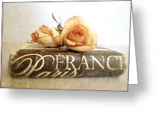 Paris Romantic Greeting Card