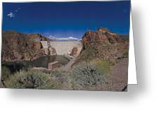 Roosevelt Dam Arizona Greeting Card