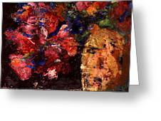 Roses Greeting Card by Daniel Bonnell