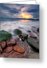 Rossbeigh Beach Greeting Card
