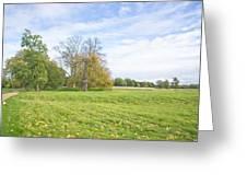 Rural Scene Greeting Card by Tom Gowanlock