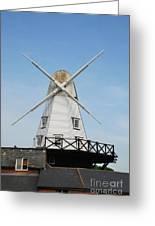 Rye Windmill Greeting Card