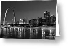Saint Louis Skyline Greeting Card