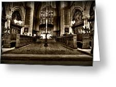 Saint Marks Episcopal Cathedral Greeting Card