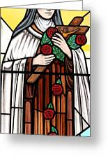 Saint Therese Of Lisieux Greeting Card