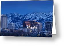 Salt Lake City Greeting Card