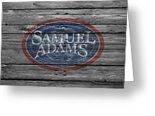 Samuel Adams Greeting Card